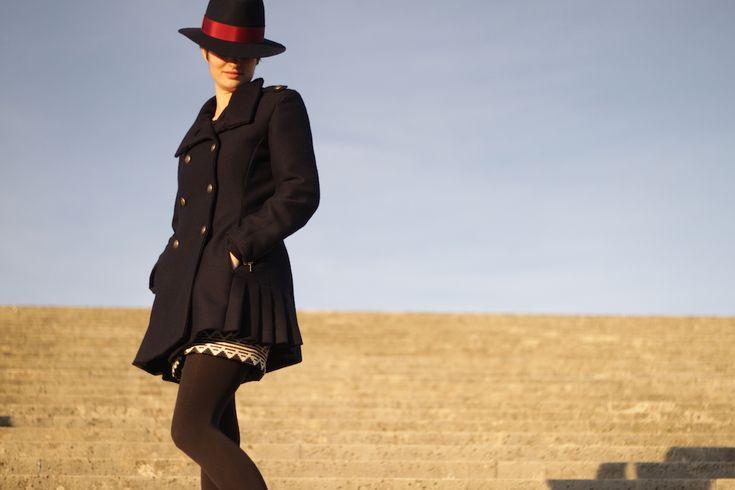 Patron de manteau Quart par Pauline Alice ) Blog Annie Coton Quart coat pattern by Pauline Alice - Blog Annie Coton