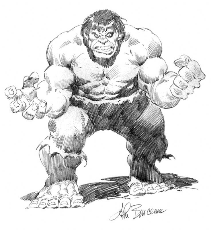 Art of John Buscema.
