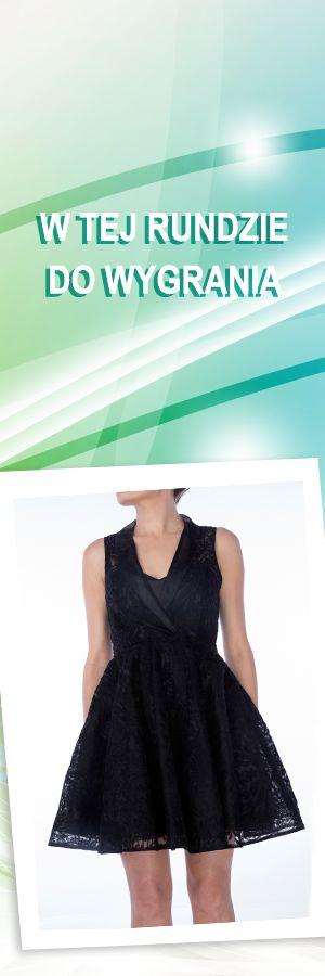 Czarna rozkloszowana sukienka, rozmiar M; Projektant: Drunklegends; Wartość: 449 zł. Poczucie elegancji: bezcenne. Powyższy materiał nie stanowi oferty handlowej.