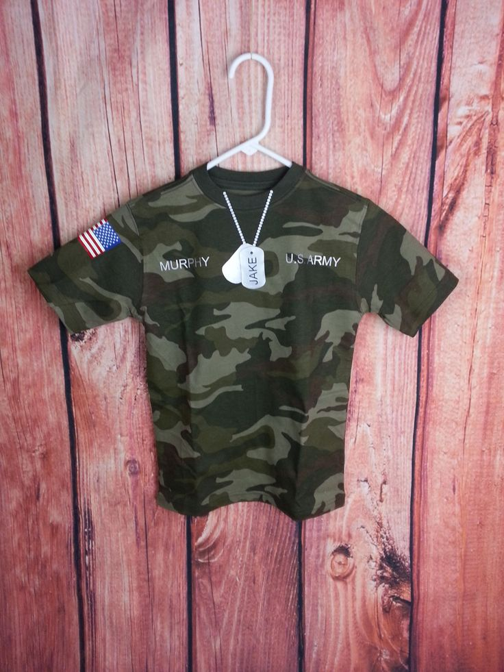 PERSONALIZED Army, Birthday, Camouflage, Camo, Dog Tags, Military, Army Birthday Party, American Flag, US Army, Armed Forces, Boy's Birthday by NatureFamilyLife on Etsy