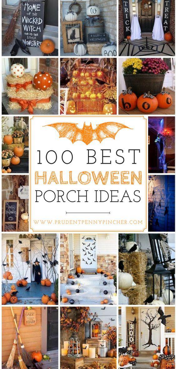 100 Best Halloween Porch Decor Ideas Halloween Pinterest