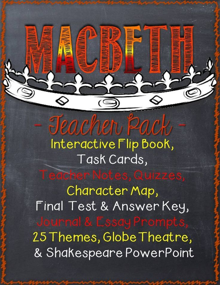 die besten macbeth test ideen auf divergent macbeth teacher pack interactive flip book notes characters quizzes journal and