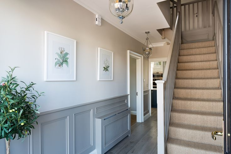 Geri Designs | Hallway designs, Small hallways, Home