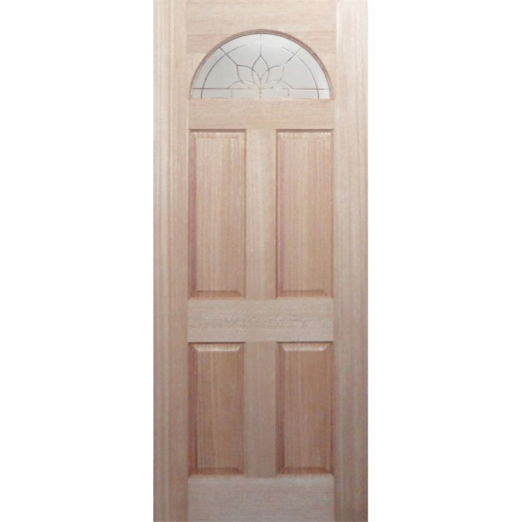 I am going to paint this baby blue.   Woodcraft 2040 x 820 x 40mm Frosted Glass Carolina Entrance Door HMS01 I/N 2002965 | Bunnings Warehouse