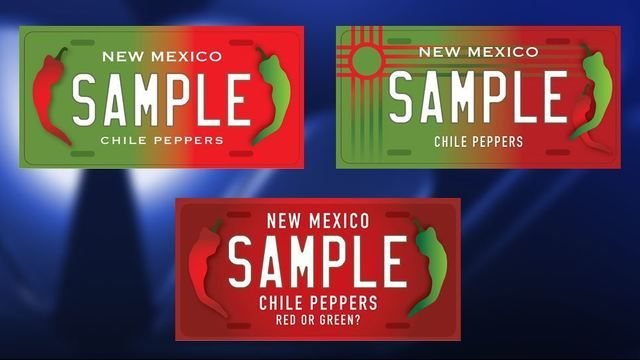 A chile license plate for New Mexico is headed to Governor Susan Martinez's desk for her signature.