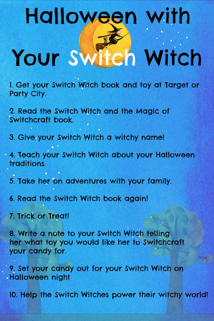 The Switch Witch book and toy is perfect for kids with allergies, health-conscious families, and moms and dads who want a new Halloween tradition! Learn more at http://switchwitches.com or buy the toy at Target now!