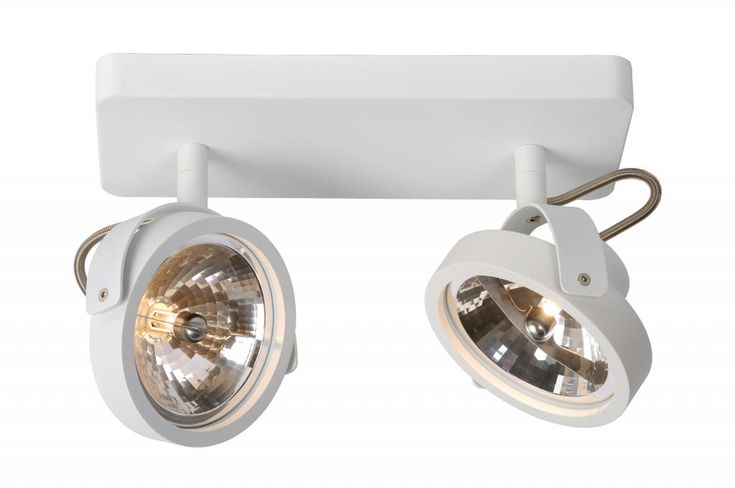Opbouwspot Dice - 2 licht - Zuiver - Lampen van LiL.nl