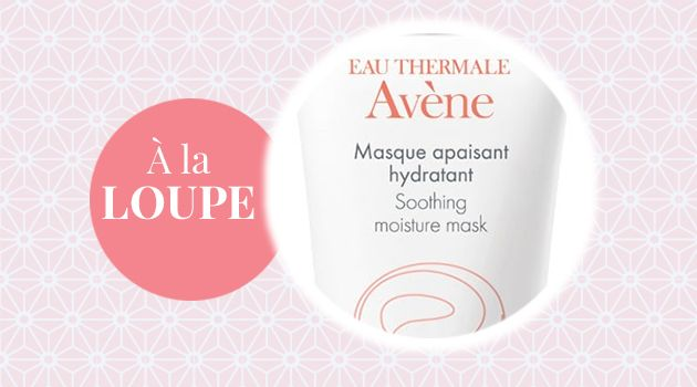 Produit à la loupe : Le Masque Apaisant Hydratant Avène http://www.beaute-test.com/mag/article-produit-loupe-masque-apaisant-hydratant-avene.php