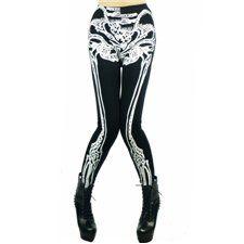 Legging Motif Squelette Stylisé Styla Waooh  38,00€