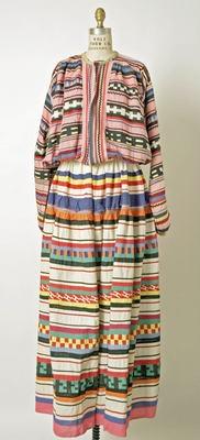 Intricately pieced clothing of the Seminole Indians (Florida) - 1800-1945 Metrolpolitan Museum