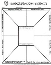 17 best Character analysis images on Pinterest | Teaching reading ...