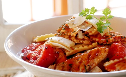Italian Chicken Ravioli
