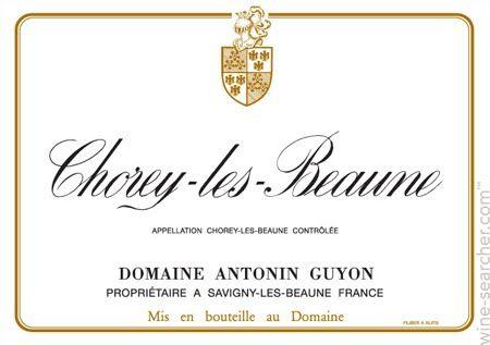 Domaine Antonin Guyon Chorey-les-Beaune,
