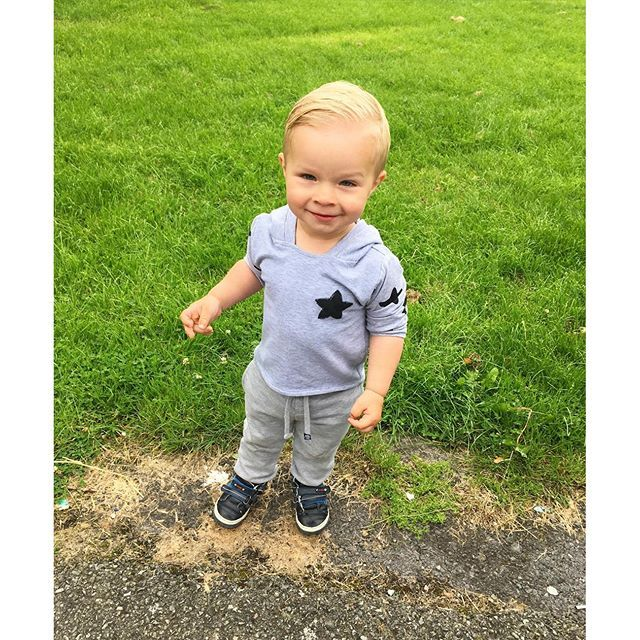 He makes my heart melt...😍 #23monthsOld Hoodie made by my mum😊 #boy #toddler #handsome #mummyblogger #mummysboy #irishblogger #childfashion #kidsfashion #kidmodel