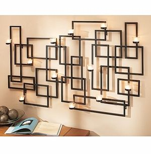 wrought iron wall sconces for candles   Candle Wall