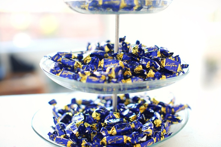 Karl Fazer candies from Finland.