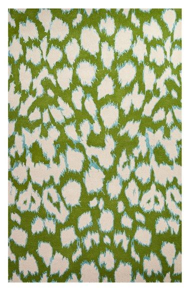 kate spade new york 'gramercy - animal print' wool & silk rug (Nordstrom Exclusive) available at #Nordstrom