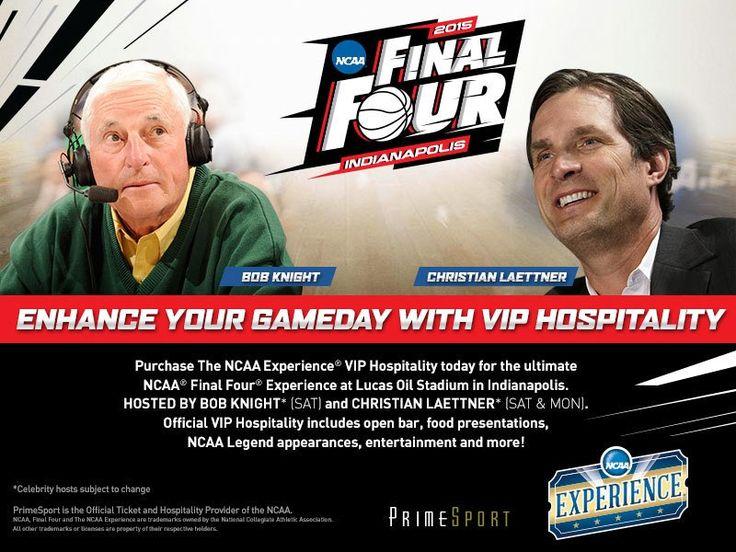 PrimeSport Final Four VIP Hospitality Hosts!