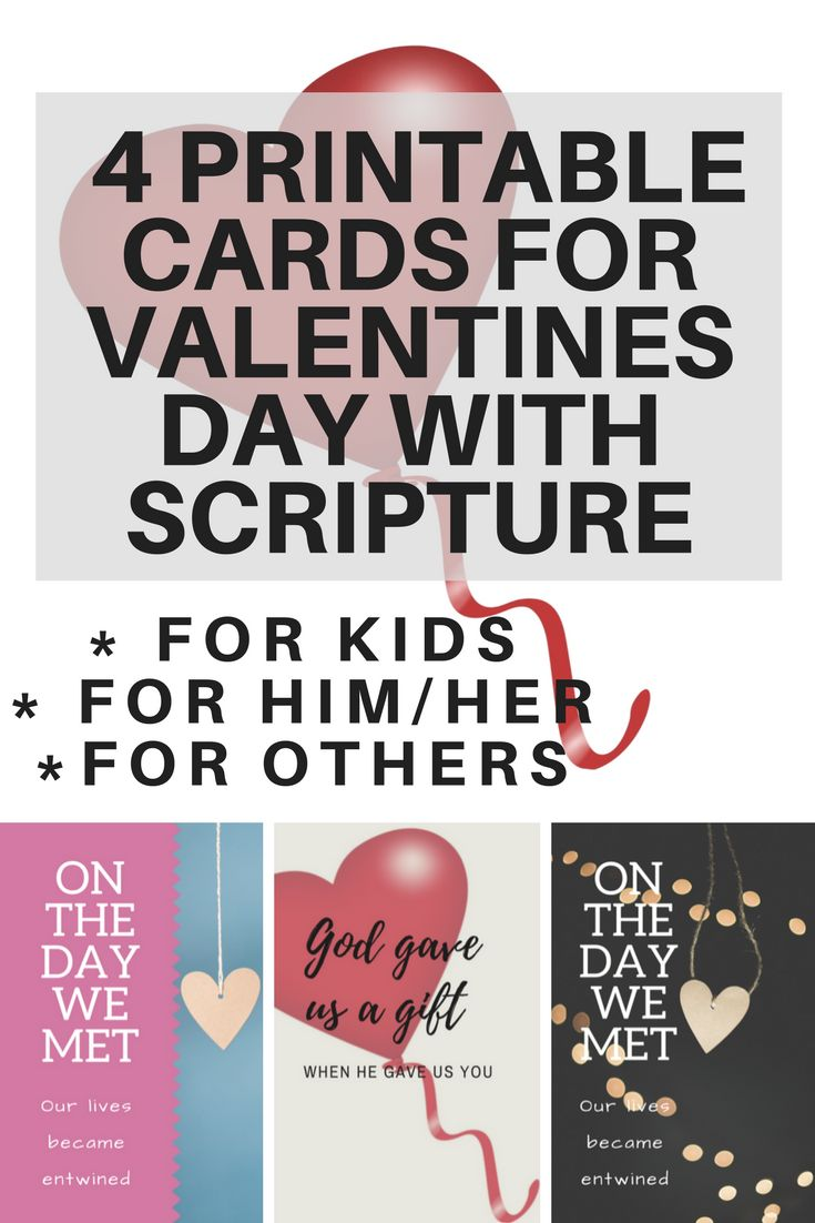 4 Valentine's Day Printable Christian Greeting Cards https://www.christianresourceministry.com/2018/01/31/4-valentines-day-printable-christian-greeting-cards/