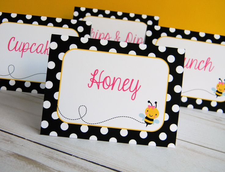 Bumble Bee Food Labels Printed