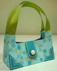 free templates for paper purses, boxes, bags cards