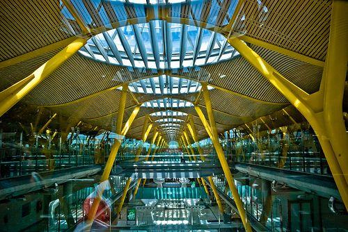 Madrid, aeropuerto Barajas T4