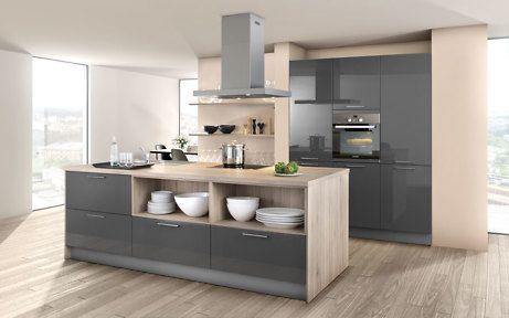 Trend Materialien Glas \ Keramik für die Küche Penthouses - alno küchen grifflos