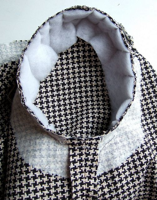 Tailored jacket: step-by-step sew-along by Ann Rowley. как правильно вшить рукав пиджака