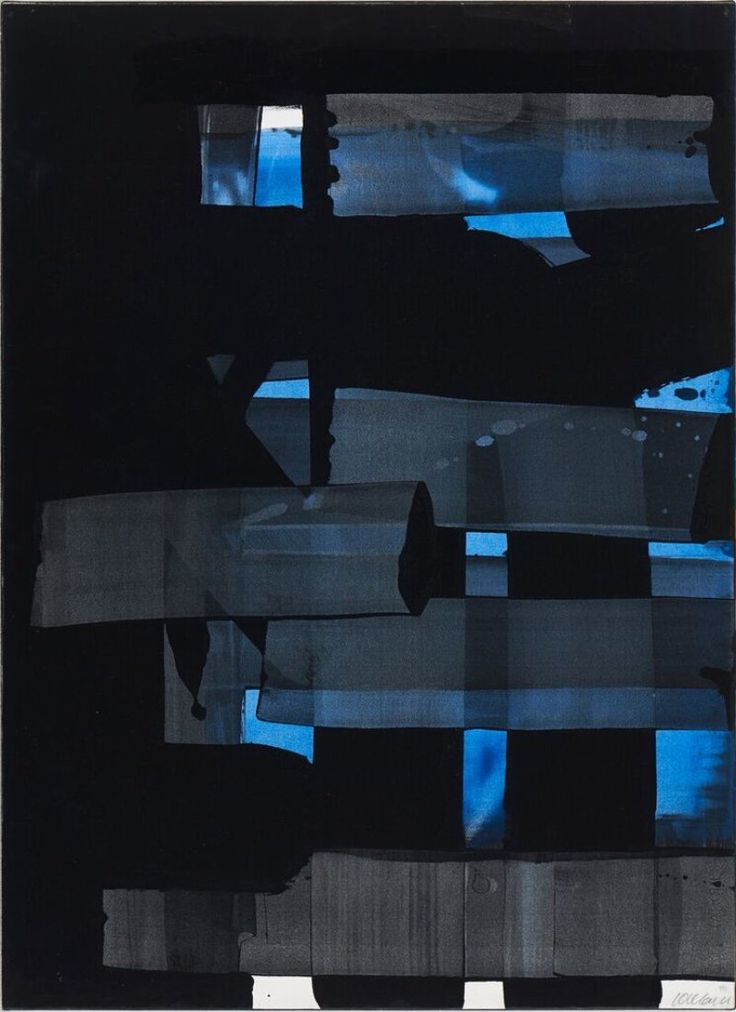 Pierre Soulages 1973