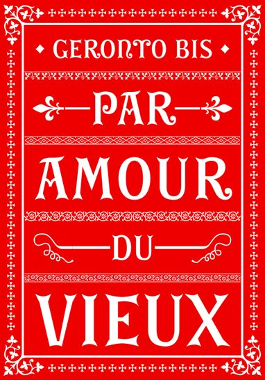 French font, too overtly french. too motify.