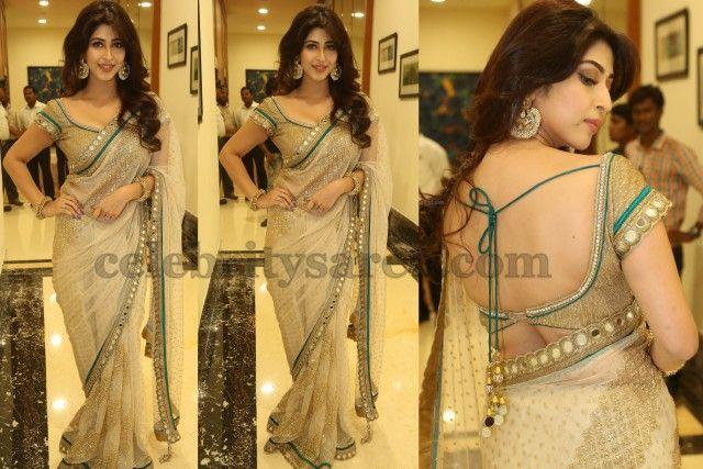 Sonarika Mirror Work Saree