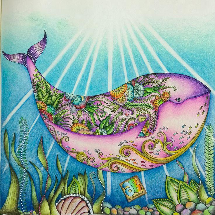 Lost Ocean Johannabasford Coloring BooksAdult