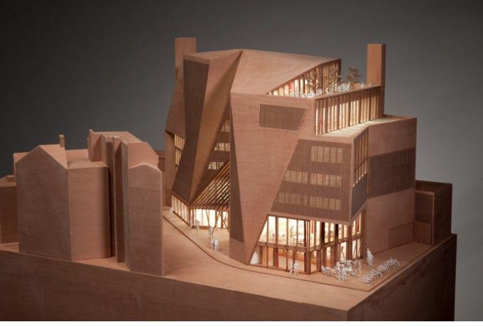 London School of Economics. Saw Swee Hock Student Centre, Londres - D'architectures