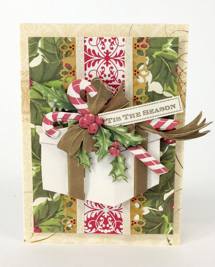 HSN September 2nd Preview #1 | Anna's Blog Last up for today is the Christmas Decoupage Kit, featuring 72 holiday die cuts with images of beautiful bells, holly, candy canes and ornaments that come to life when layered on a card or scrapbook page. And, of course, we included some amaryllis and poinsettias for you – I'd never leave out the festive florals!