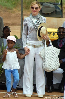Madonna and daughter.