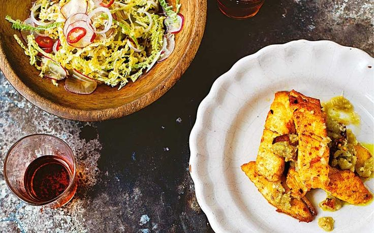 Burmese chilli fish with hot and sour salad recipe - Telegraph