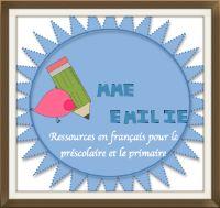 Le blog de mme Émilie, ressources éducatives en français pour le préscolaire et le primaire