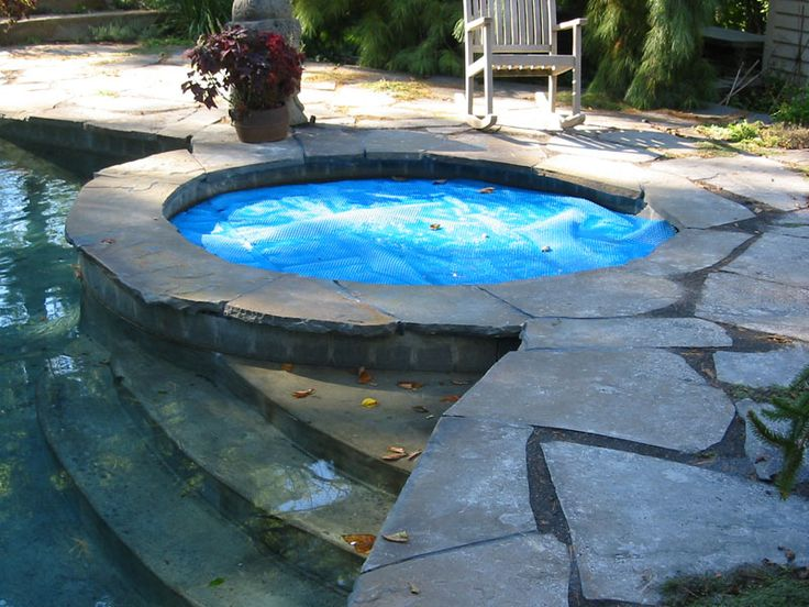 natural stone hot tub would be nice, too