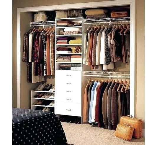 Exceptionnel Small Walk In Closet Ideas And Also Organizer Design To Motivate You. Diy  Walk In Closet Ideas, Walk In Closet Dimensions, Closet Organization Ideas.