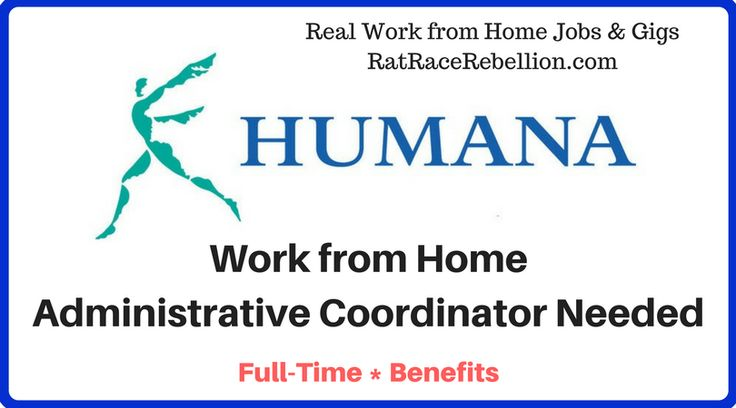 Work from Home Administrative Coordinator Needed with Benefits