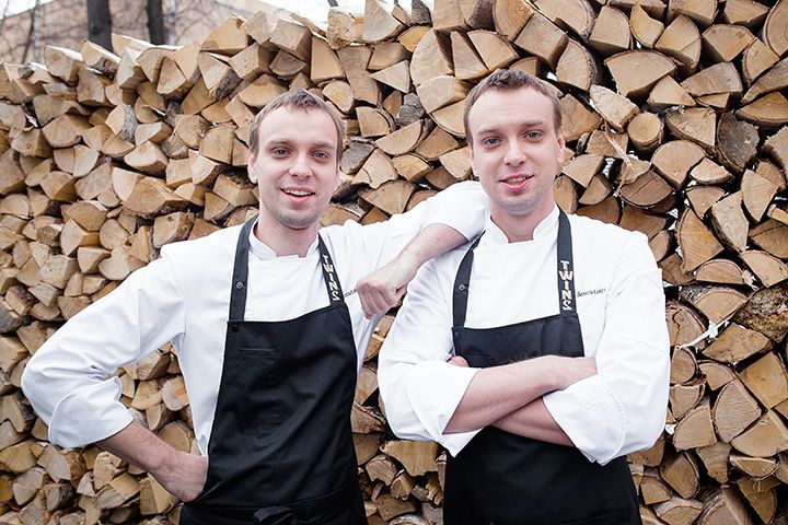 Twin-brothers who happen to be the best of young Russian chefs