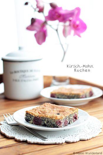 Cherry Poppy Seed Cake / Kirsch-Mohnkuchen