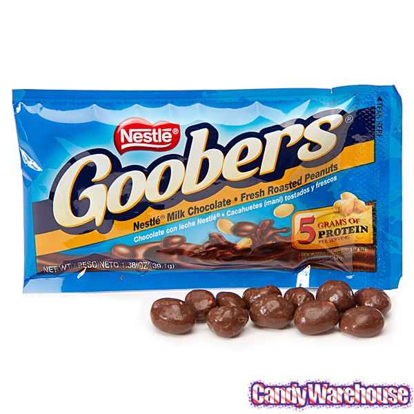 goobers candy | Goobers Candy Packs: 24-Piece Box | CandyWarehouse.com Online Candy ...