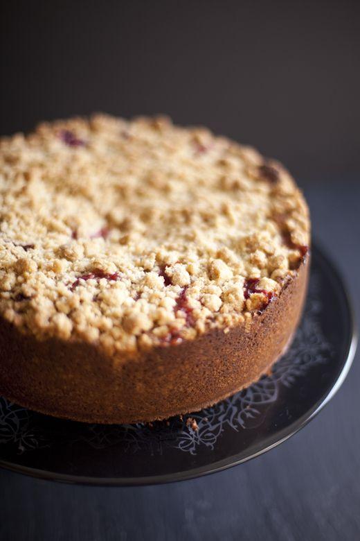Plum (or Pear) Cake on ZoeBakes