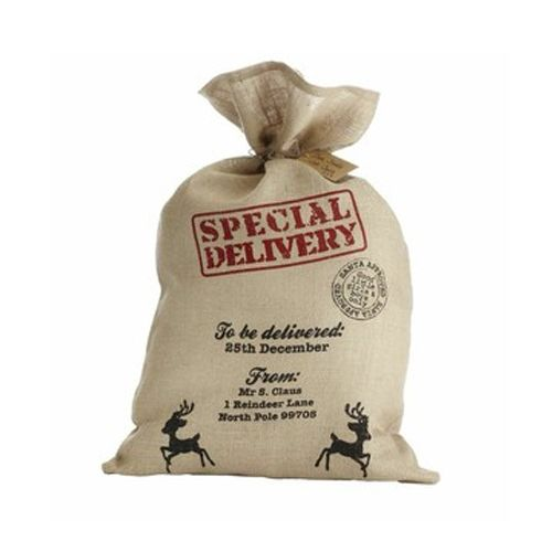 Special delivery Santa sack - Christmas in #HTFSTYLE