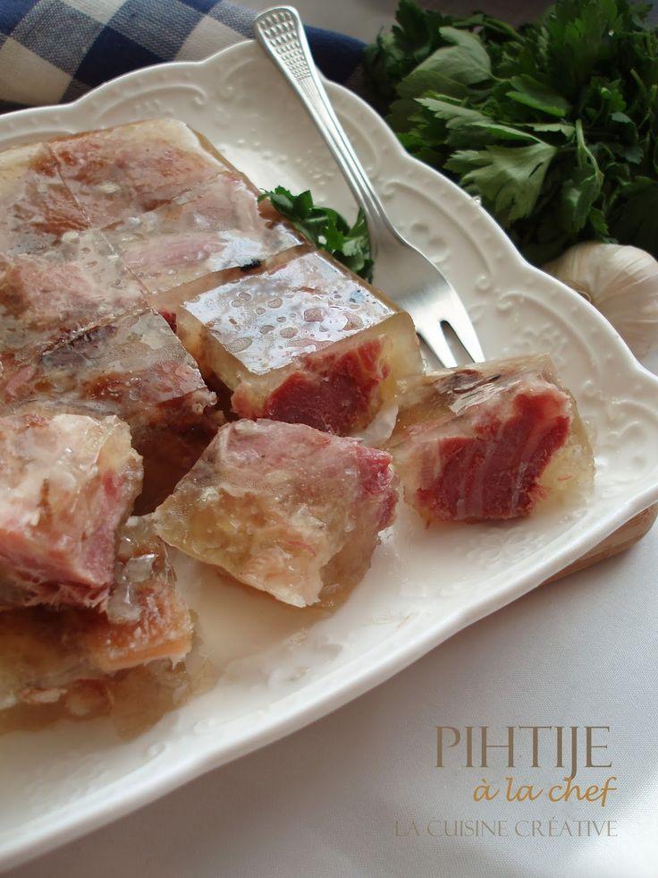 La cuisine creative: Pihtije à la chef