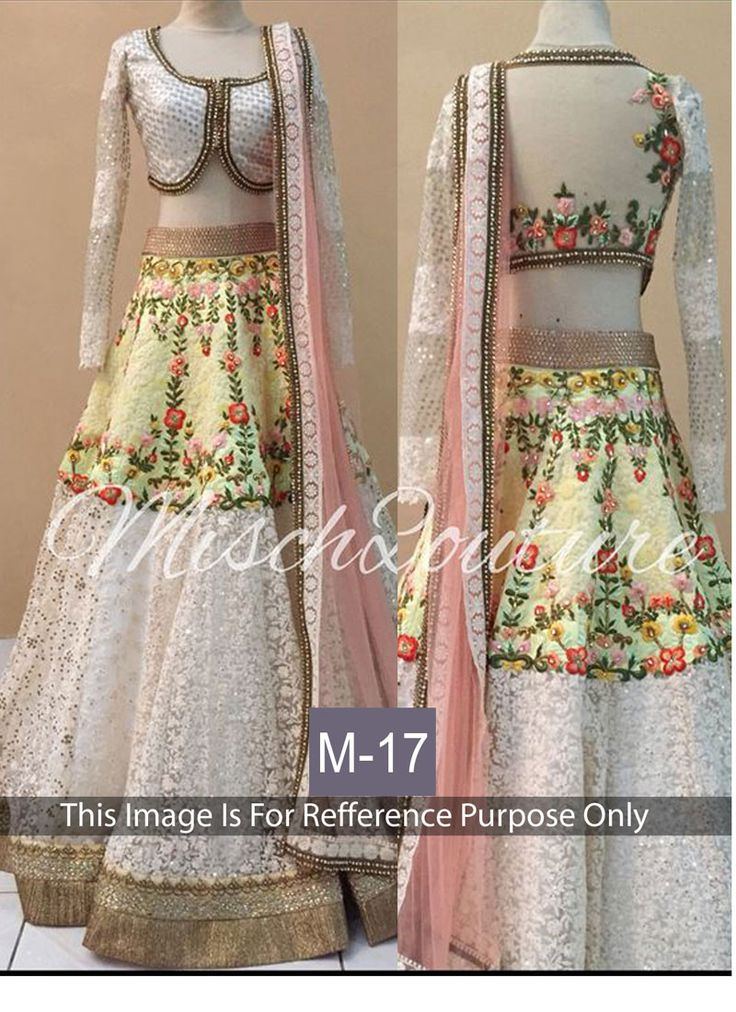 White Banarasi Designer Lehenga