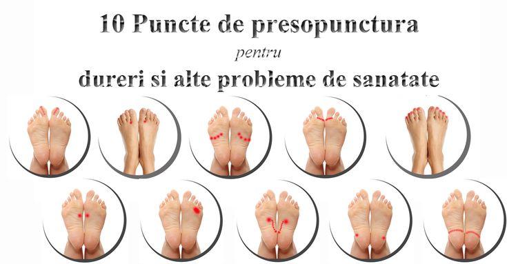 10 Puncte de presopunctura pentru dureri si alte probleme de sanatate
