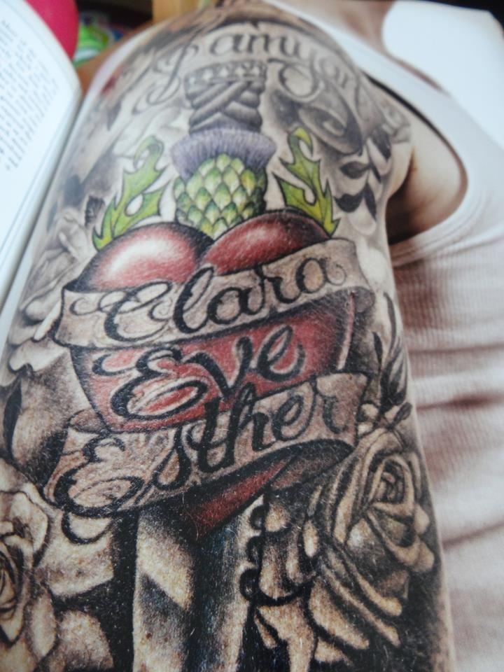 Ewan McGregor - Updated Tattoo
