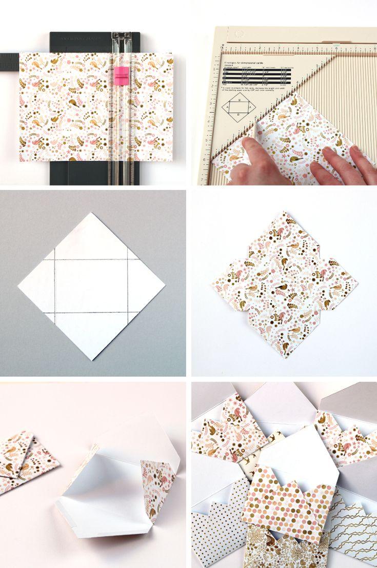 die besten 25 brief falten ideen auf pinterest papier. Black Bedroom Furniture Sets. Home Design Ideas